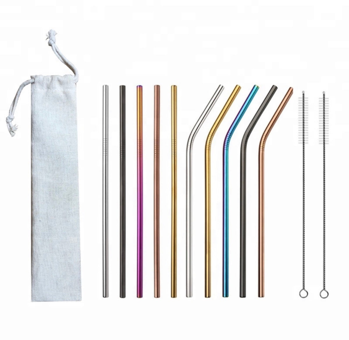 Pick and Mix Stainless Steel Straws