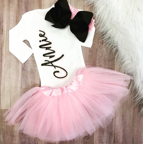 Personalized Name Bodysuit