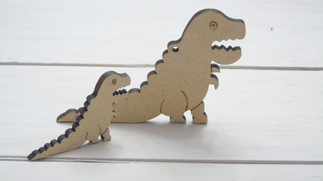 T-Rex  2cm NOT ETCHED  (Packs Of 25)