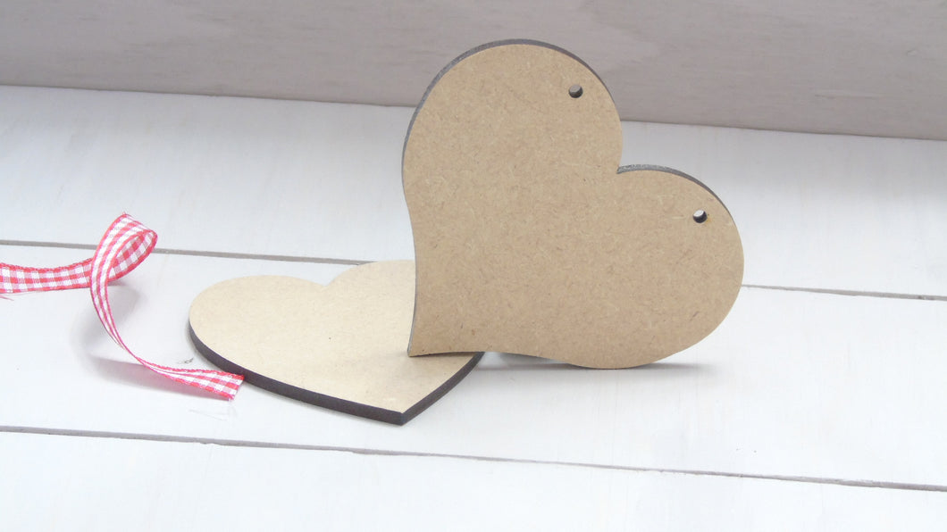 Chubby Heart 4cm to 12cm (Packs Of 10)