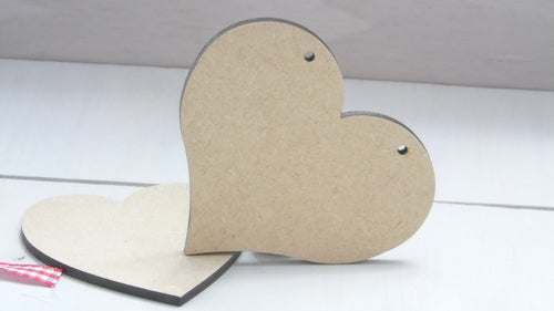 Chubby Hearts 2cm - 3cm (Packs Of 25)