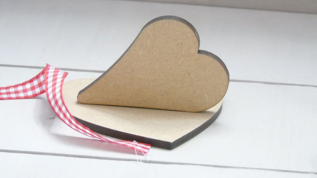 Sloppy Hearts 2cm - 3cm (Packs Of 25)