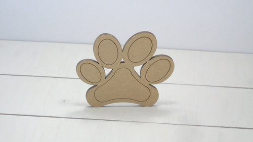 Dog Paw 4cm to 12cm (Packs Of 10)