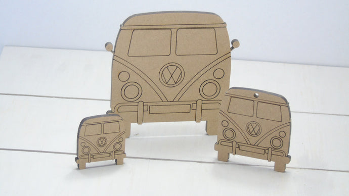 Vw Camper Van  4cm to 12cm (Packs Of 10)