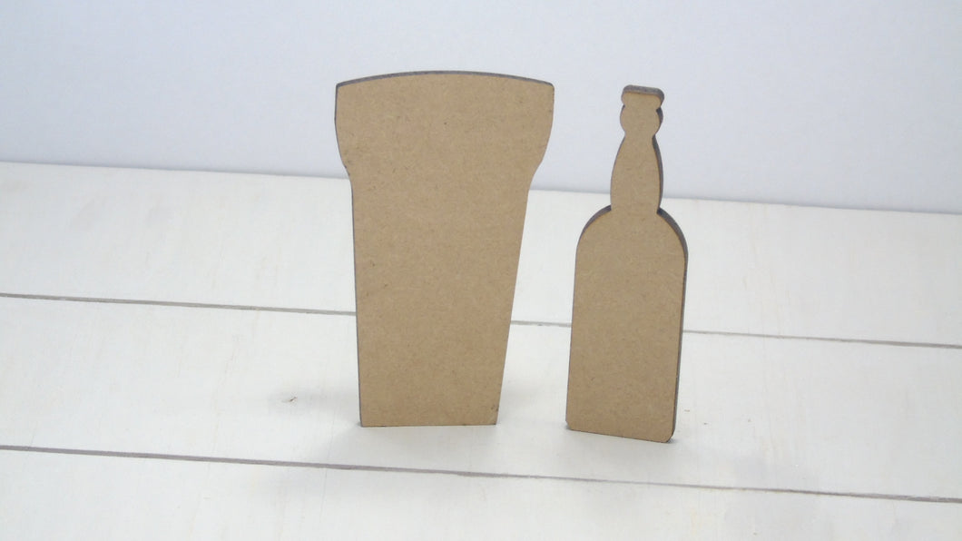 Glass & Bottle 4cm -12cm (Packs Of 10)