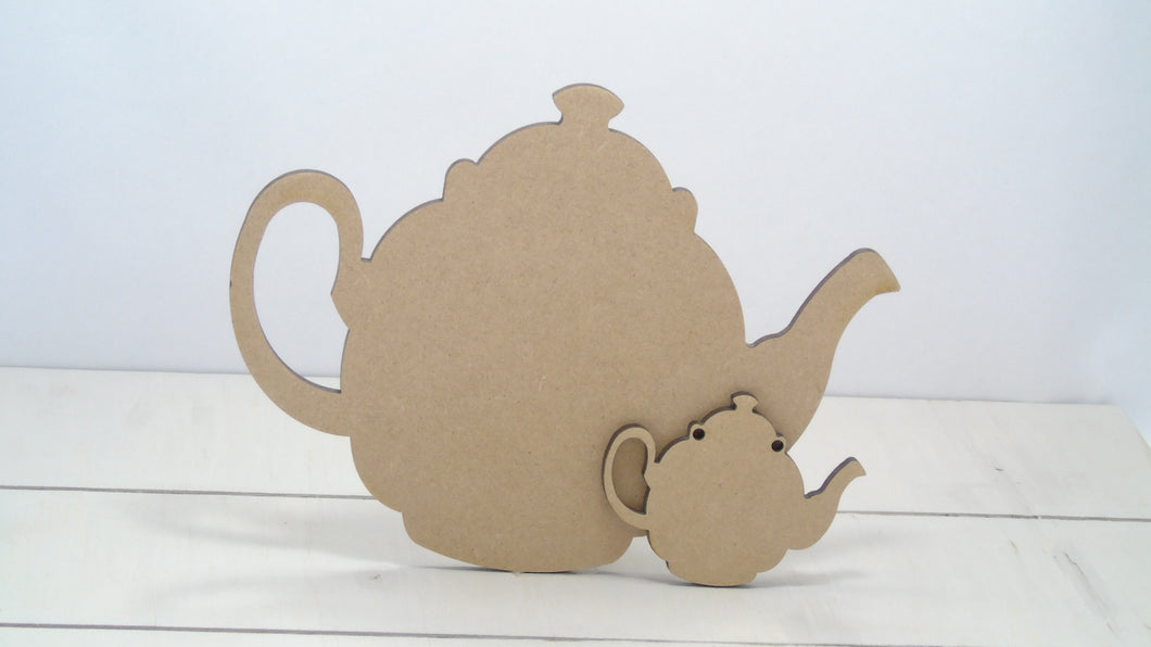 Teapot 4cm -12cm (Packs Of 10)