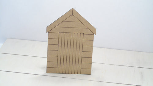 Beach Hut 4cm -12cm (Packs Of 10)