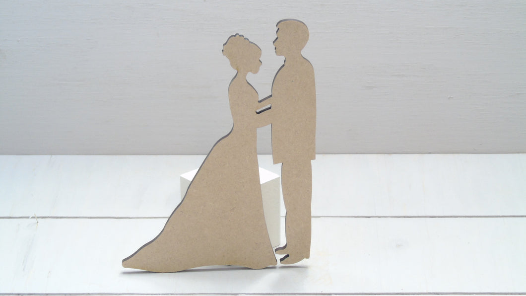 Wedding Couple 4cm -12cm (Packs Of 10)