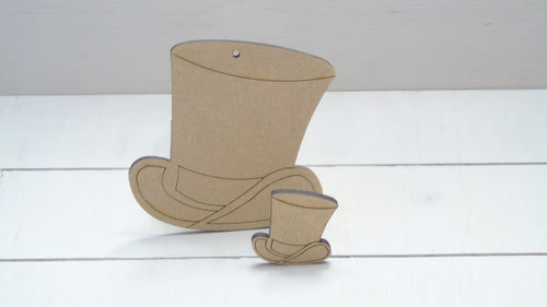 Top Hat 4cm -12cm (Packs Of 10)
