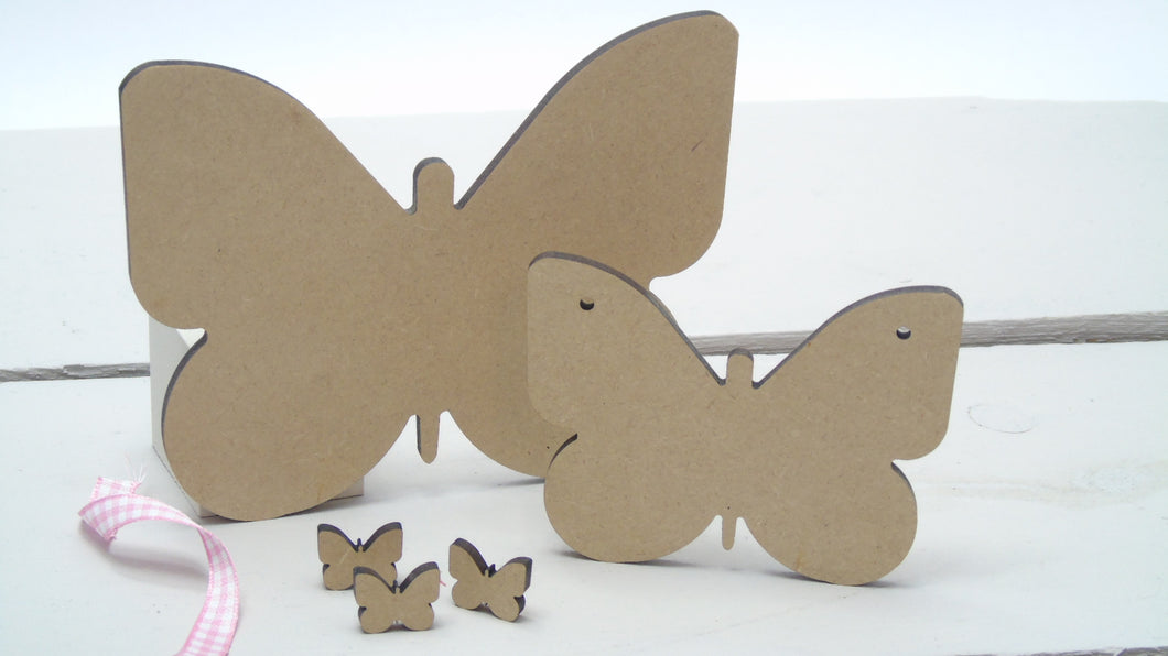 Butterfly  2cm (Packs Of 25)