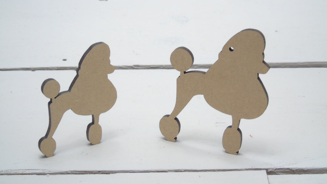 Poodle 4cm -12cm (Packs Of 10)