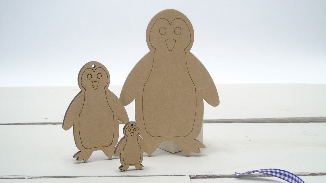 Penguin 4cm -12cm (Packs Of 10)