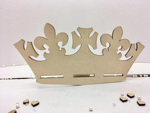 Crown -  Bow & Ribbon Holder