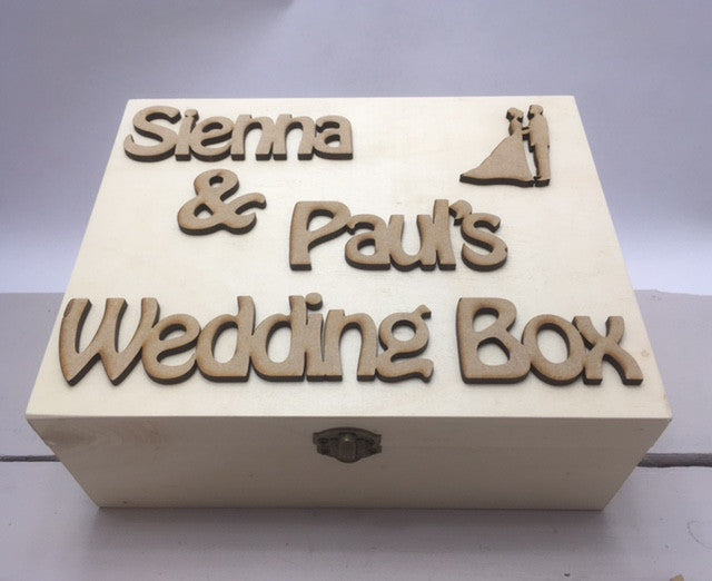Wedding Memory Box Personalised