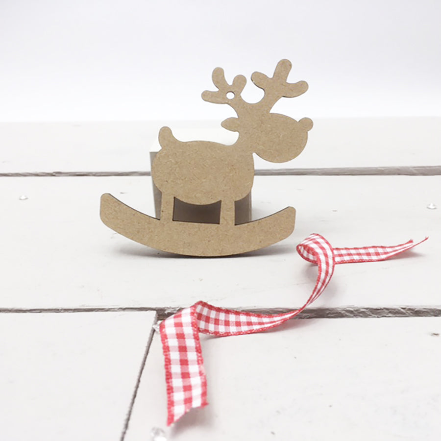 Rocking Reindeers 4cm -12cm (Packs Of 10)