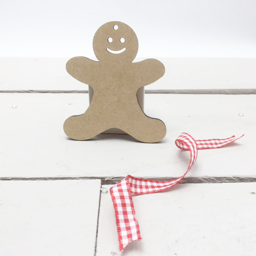 Gingerbreadmen with Faces 4cm -12cm (Packs Of 10)
