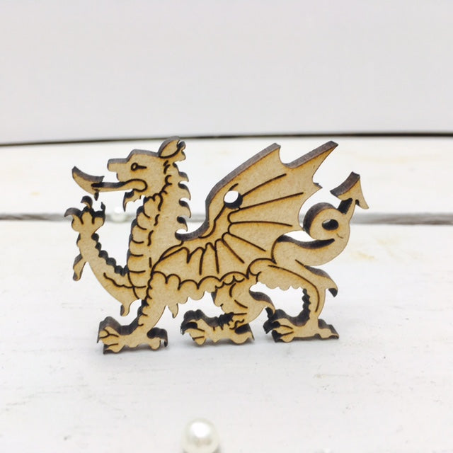 Welsh Dragons 6cm -12cm (Packs Of 10)