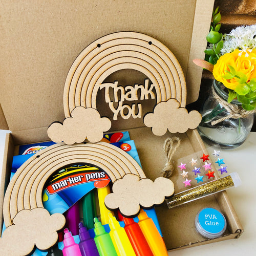 Copy of Decorate Your Own Rainbow Kit - THANK YOU DESIGN