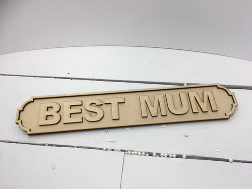 Name Road Sign - 30cms