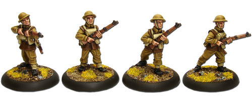 British Riflemen in Jerkins