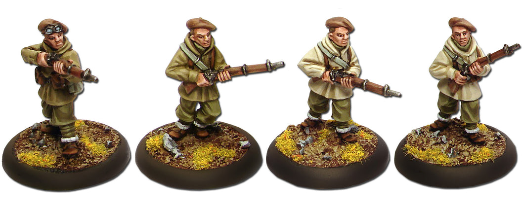 French Foreign Legion in Anorak