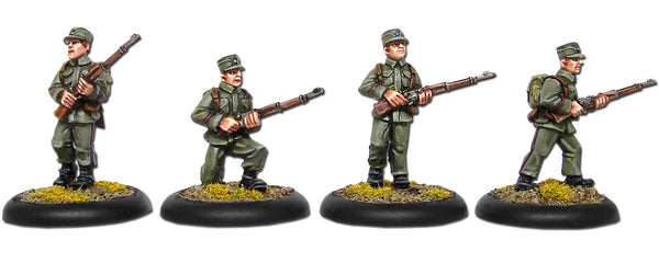 Norwegian Riflemen with Bergan Pack