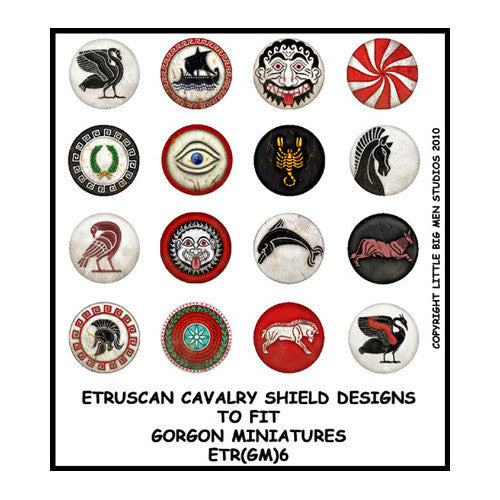 Etruscan Cavalry Shield Transfers 6