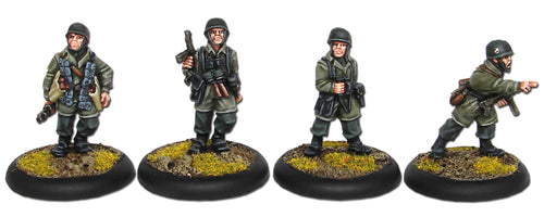 Fallschirmjäger Officers and NCOs