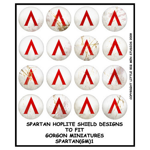 Spartan Hoplite Shield Transfers 1