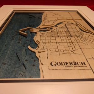 3D Map and Marine Chart of Goderich
