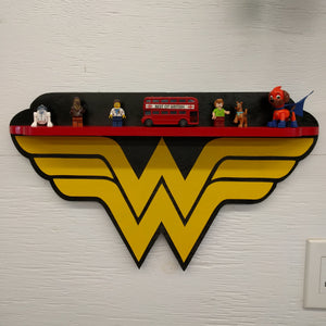 Superhero Shelf