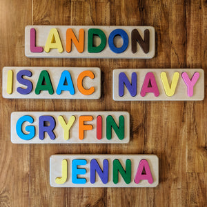 JuniorMaker Name Puzzle
