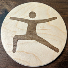 Yoga Pose Coaster Set
