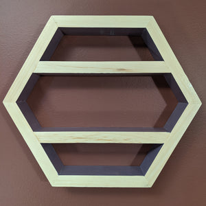 Hexagon Essential Oil Shelf