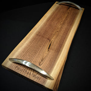 Live Edge Walnut Serving Tray