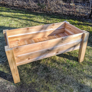 Raised Cedar Planter