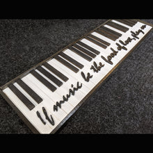 Reclaimed one-of-a-kind wooden piano artwork