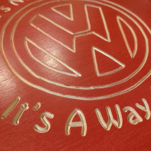 Hand Engraved Signs