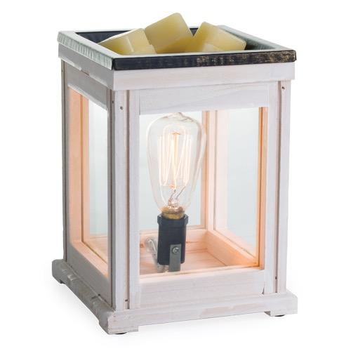 Edison Weathered Wood Candle Warmer
