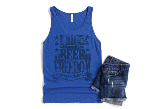 BBQ Beer Freedom Tank