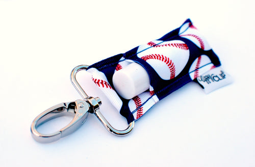 LippyClip® Baseballs With Navy