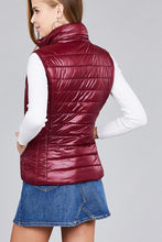 Quilted padding vest