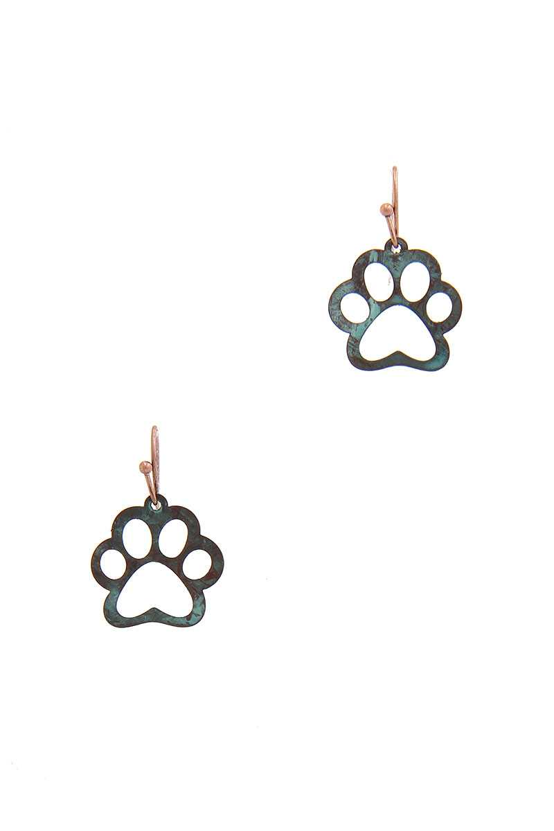 Paw Drop Earring