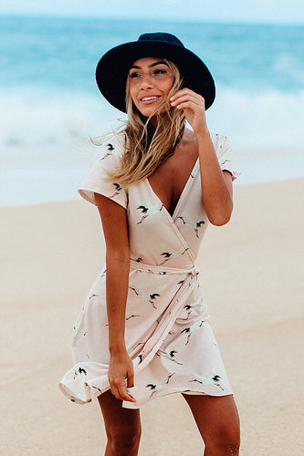 Akela Wrap Dress Handmade in Hawaii