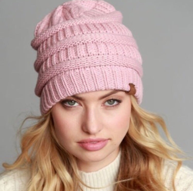 The BBasic Beanie - Pink