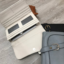Vegan Leather Classic Wallet Checkbook