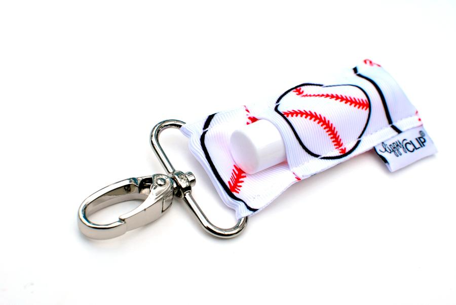 LippyClip® Baseball - Red & White