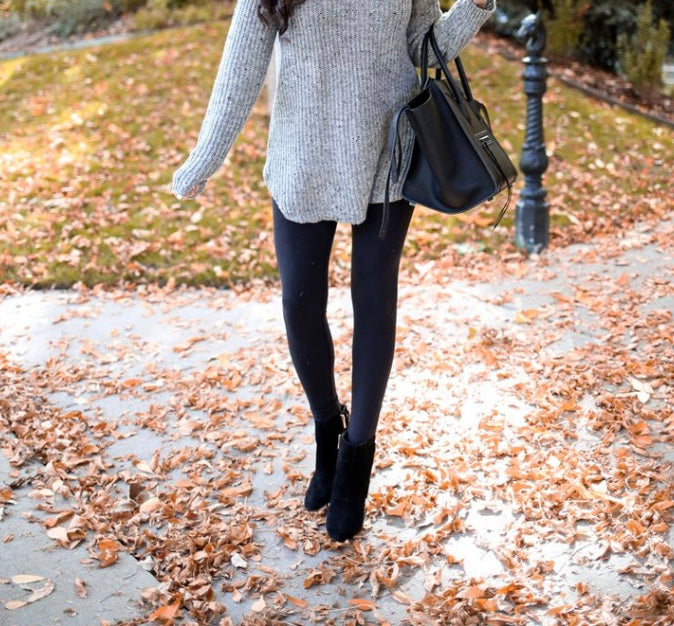 Black Soft Brushed Leggings