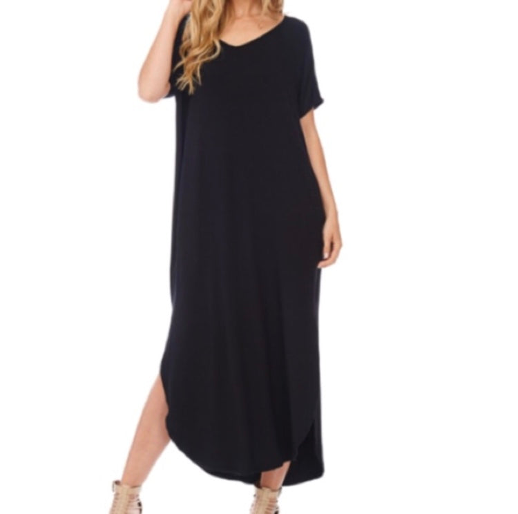 The Boyfriend Tee Maxi Dress