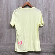 B2B Posh Boss Yellow Crew Neck Short Sleeve Tee BB519